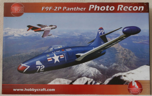 Hobbycraft 1/48 1457 Grumman F9F-2P Panther 'Photo Recon'